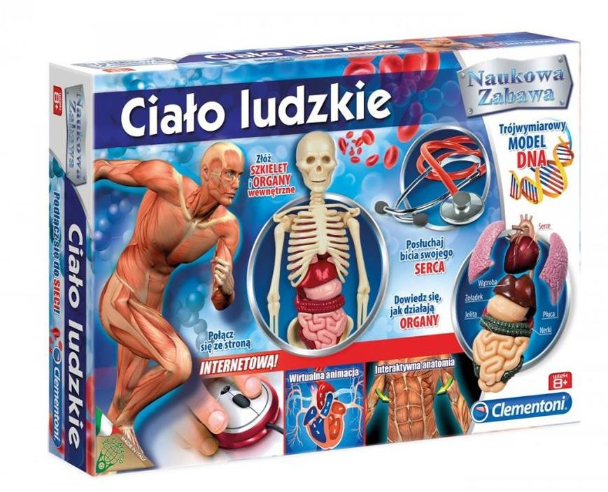 Clementoni Ciało ludzkie GXP-523099