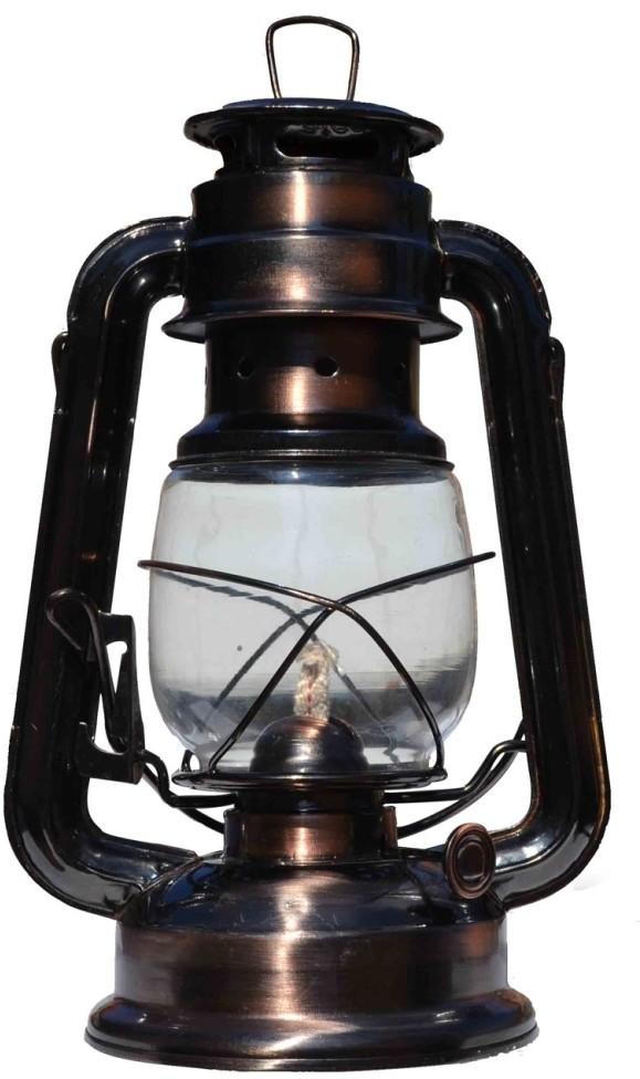 Prezent Lampa naftowa miedź