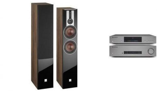 Cambridge Audio CXA81 + CXN v2 + DALI OPTICON 6 Orzech