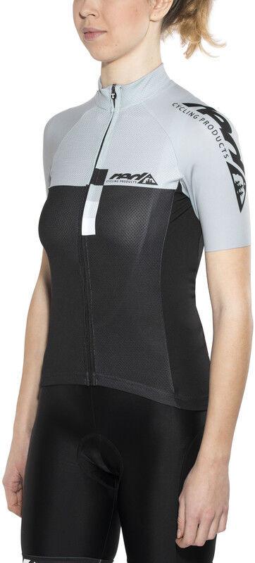 Pro Red cycling products Red Cycling Products Race Koszulka rowerowa z zamkiem błyskawicznym Kobiety, grey-black M 2020 Koszulki MTB i Downhill CO_IS51340D-175361-M