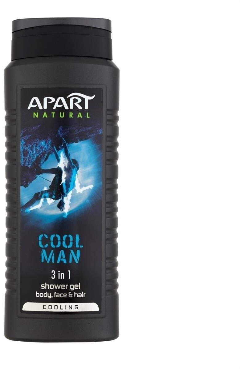 Apart NATURAL For Men żel pod prysznic dla mężczyzn Cool Man 500ml