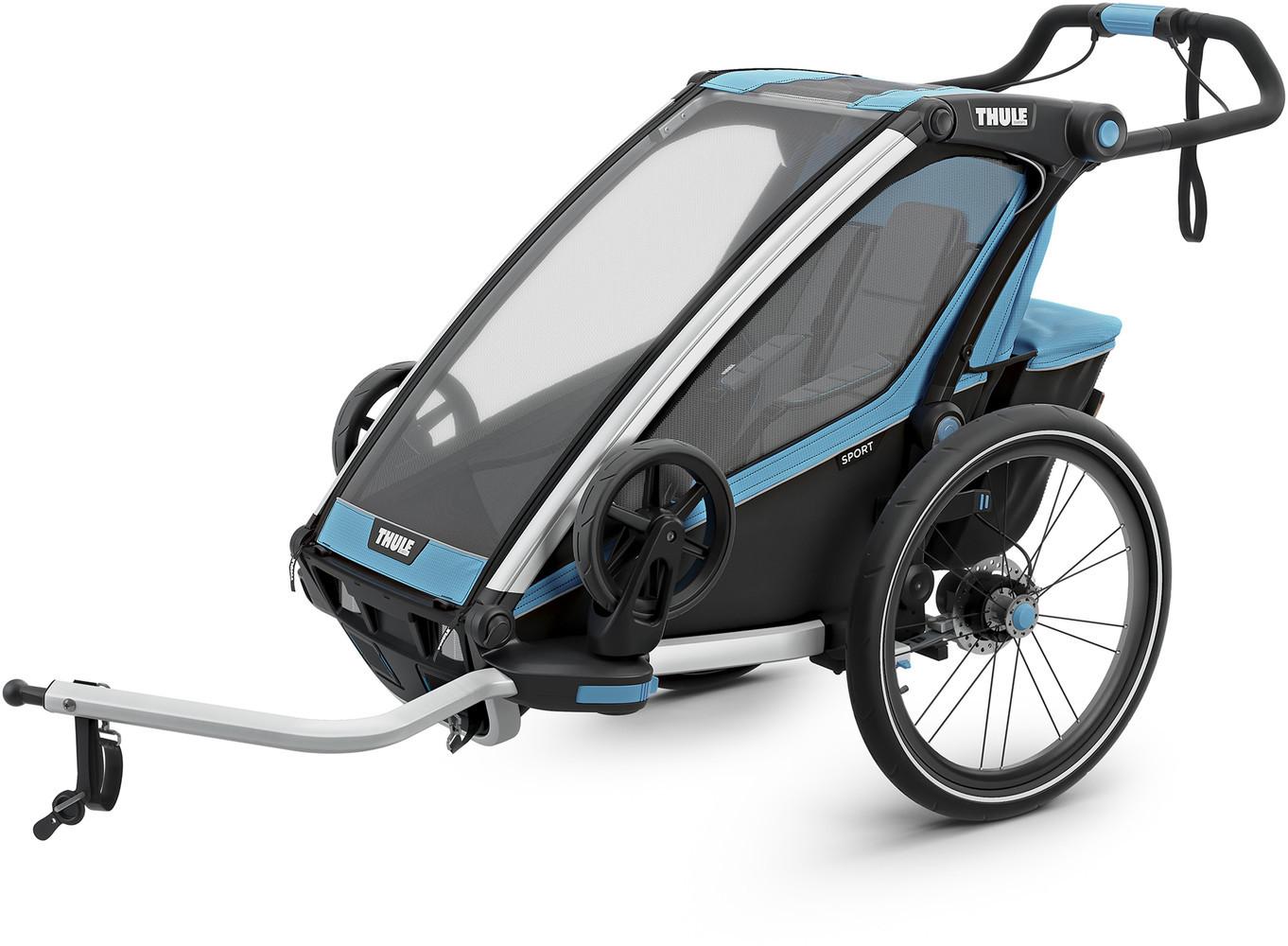 Thule Chariot Sport 1 Przyczepka rowerowa, blue/black 2020 Spacerówki 0872299047185