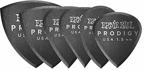 Ernie Ball 2,0 mm białe wielopak foremki cudowne 6-pak P09343