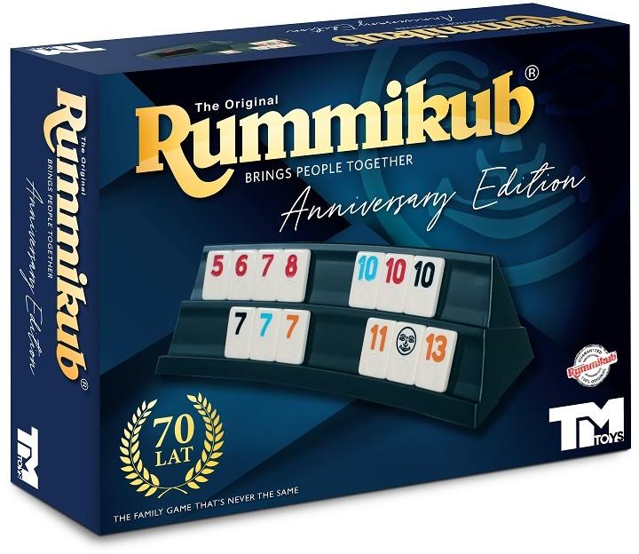 Lemada gra logiczna Rummikub, wydanie rocznicowe