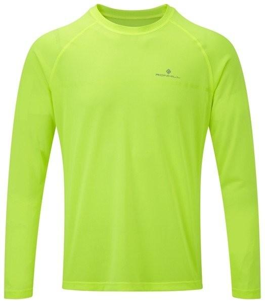 RONHILL RONHILL koszulka z długim rękawem EVERYDAY L/S TEE fluo żółta