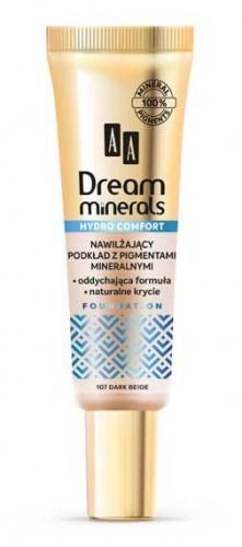 AA AA Dream Minerals Podkład Hydro Comfort 109 carmel 30ml