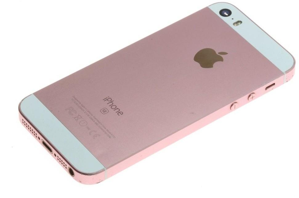 Apple Obudowa Korpus Klapka iPhone SE A1723 Rose Gold Grade B C/D / W223