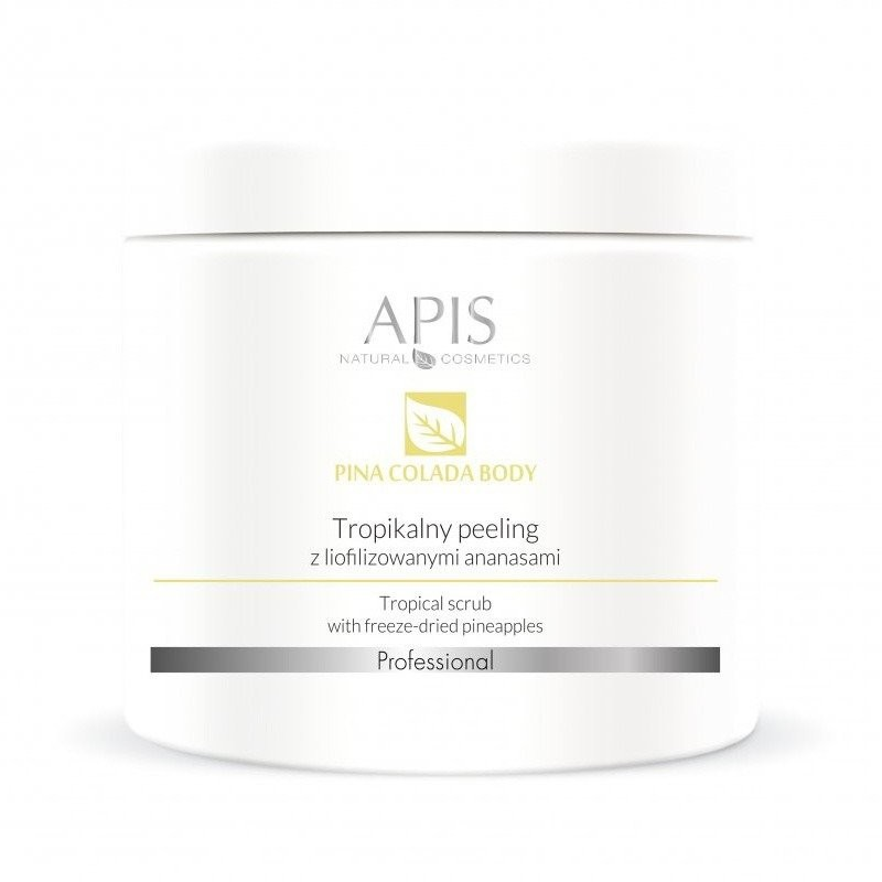 Apis Professional Tropikalny peeling z liofilizowanymi ananasami 650g activeshop-123865
