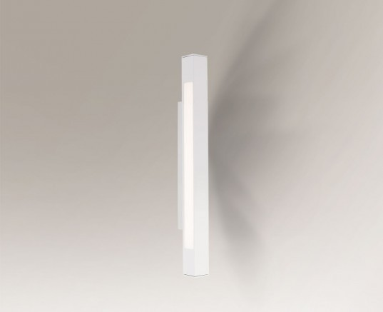 Shilo Oprawa ścienna dwustronna OTARU 4475 G5) 60cm biała 4475/G5/BI