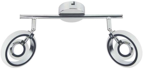 Candellux Celt LED lampa sufitowa (spot) 2-punktowa 92-62017 92-62017