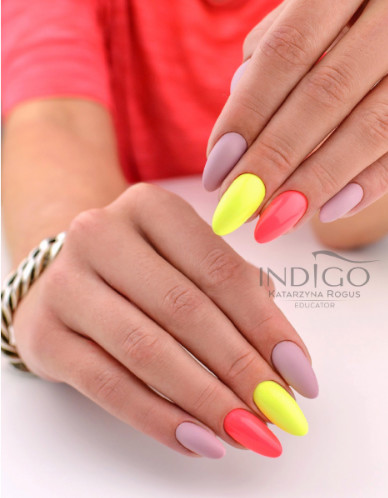 Nail Art Indigo Indigo Lemon Butterfly - Gel 8ml