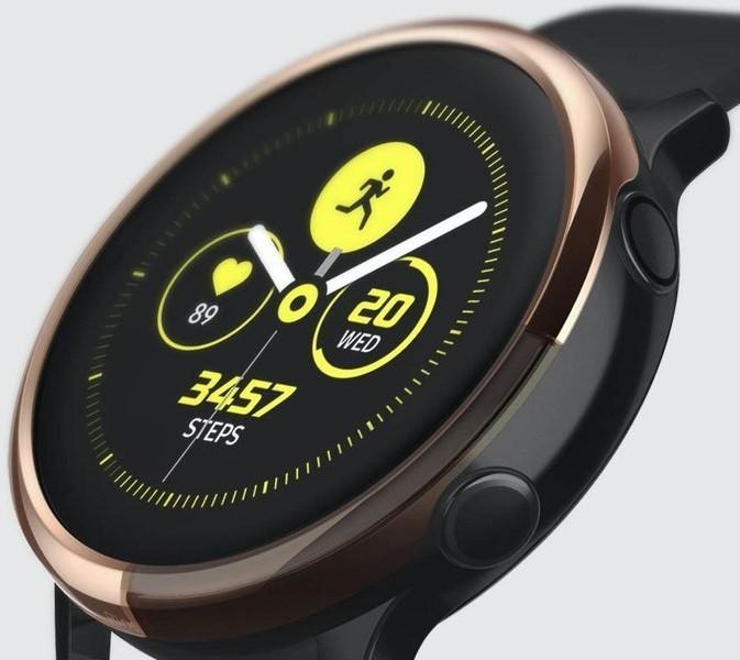 Ringke Nakładka Ringke Bezel do Galaxy Watch Active 2 40mm stal Glossy Black 7896X1