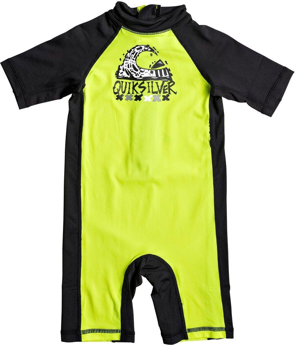 Quiksilver strój kąpielowy BUBBLE SPRING KID Safety Yellow/Black XGGK