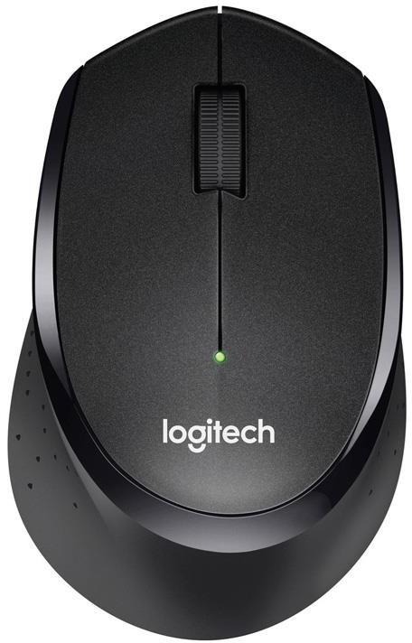 Logitech M330 Silent Plus czarna (910-004909)
