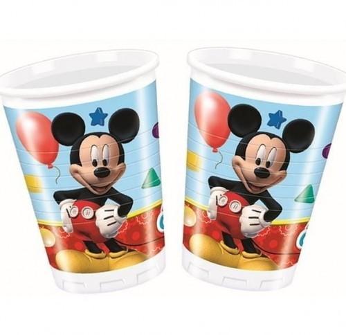 PARTY WORLD Kubeczki plastikowe Myszka Miki, Mickey Mouse 8 szt. KUBPLAST/5090-5