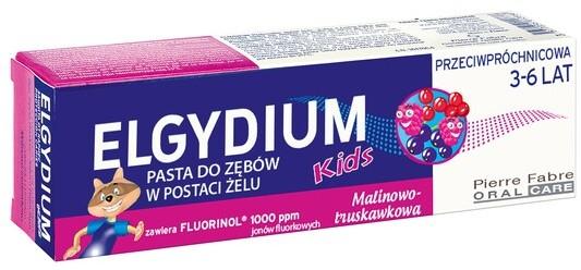 Elgydium Kids, pasta do zębów w postaci żelu dla dzieci 3-6 lat, 50,ml Duży wybór produktów | Darmowa dostawa od 199.99zł | Szybka wysyłka do 2 dni roboczych! | 7080345