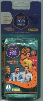 Panini Adrenalyn XL Road to 2018 FIFA World Cup Russia Blister 4+1