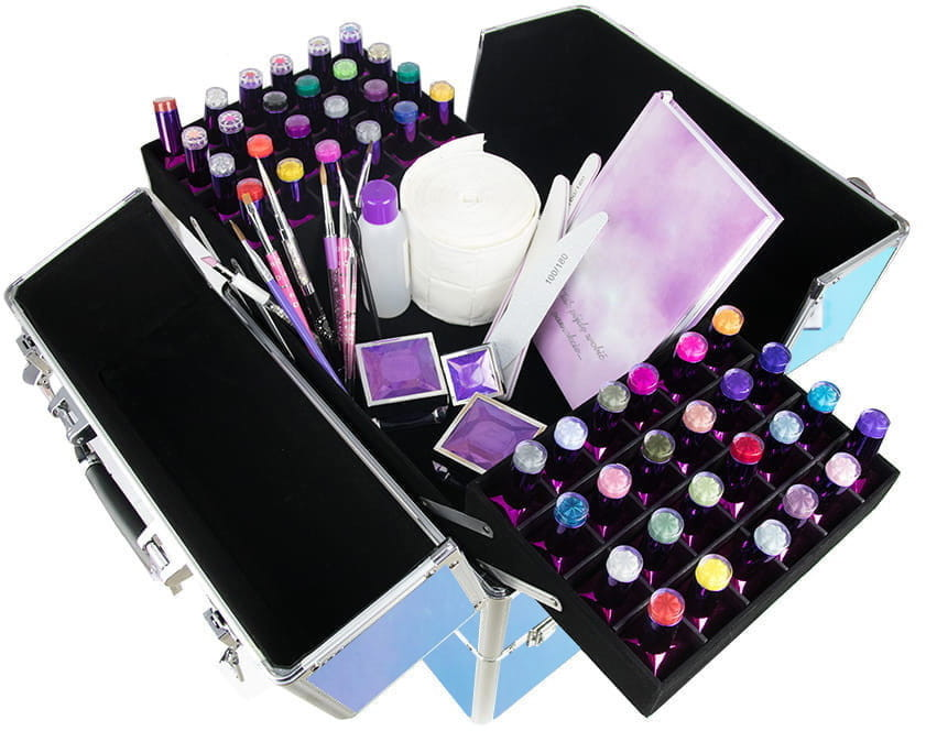 Vanity Kuferek Kosmetyczny Dwuczęściowy GLJ-1 5903657340206