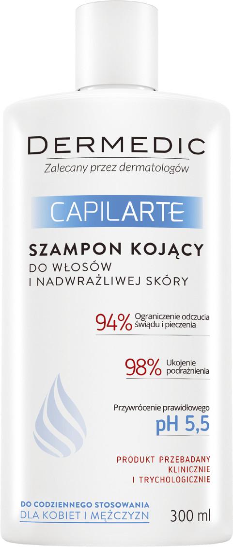 Dermedic BIOGENED S.A. CapilArte szampon kojący do włosów i nadwrażliwej skóry głowy 300 ml 7068513