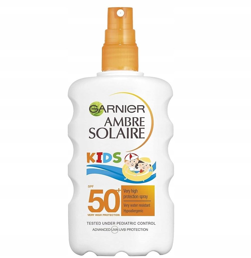 Garnier spray ochronny dla dzieci SPF50 Ambre 200m