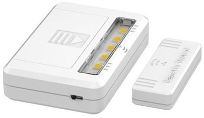 Solight LED Oświetlenie szafy LED/0,5W/2xAAA