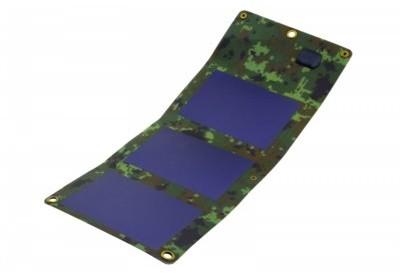 Sunen Ładowarka słoneczna 5W, 5V, 1000mA, elastyczna S5W1C