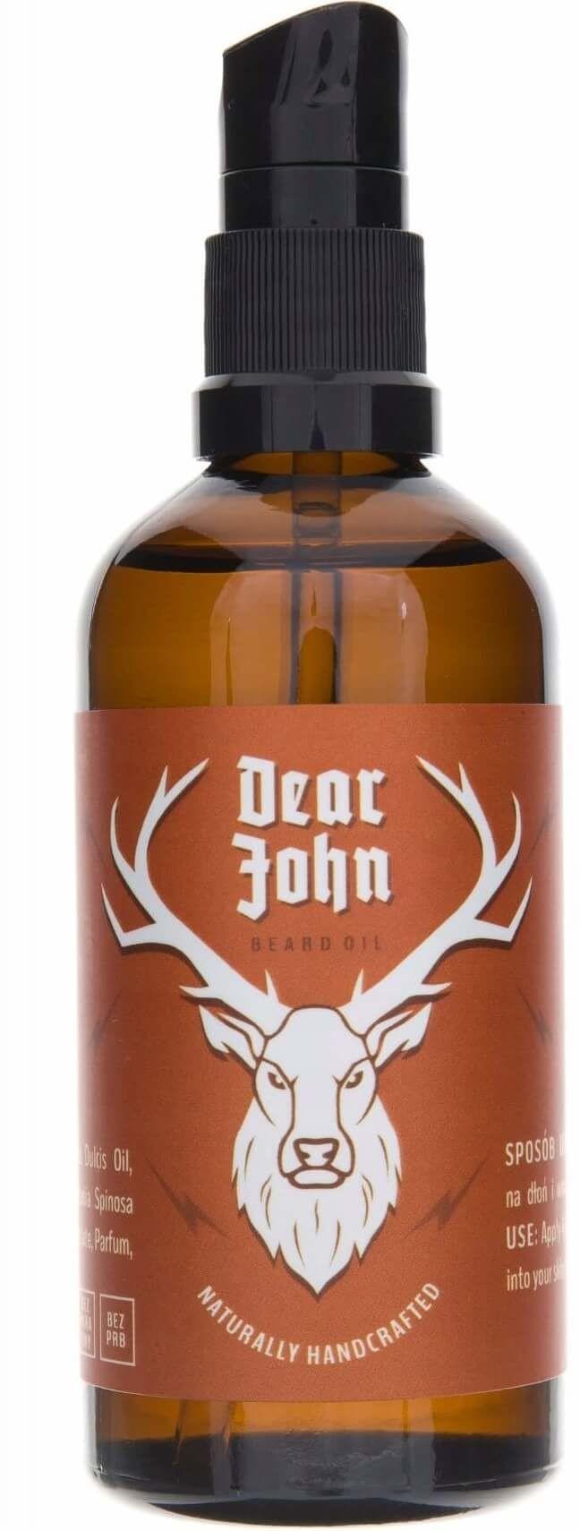 Pan Drwal Dear John orzeźwiający olejek do brody 100ml 15821