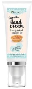 Nacomi Krem do rąk Świeże ciasto z papają - Freshly Baked Papaya Pie Smooth Hand Cream Krem do rąk Świeże ciasto z papają - Freshly Baked Papaya Pie Smooth Hand Cream