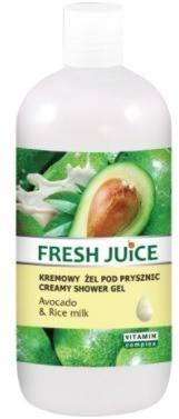 Fresh Juice Żel pod prysznic Avocado&Rice Milk 500ml GP22-2746