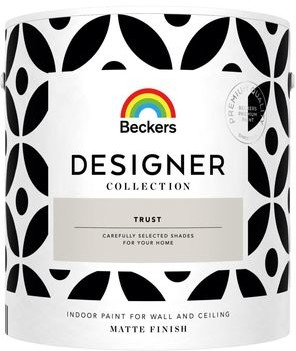 Beckers Farba wewnętrzna DESIGNER COLLECTION 2.5 l Trust