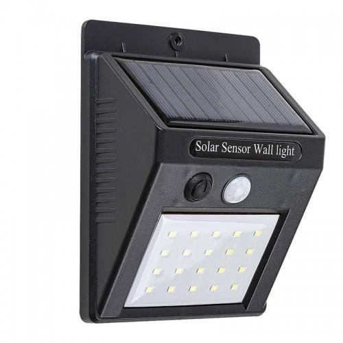 Rabalux OSTRAVA LED 2W IP65 bateria solarna, czujnik ruchu 4000K Naświetlacz 7933