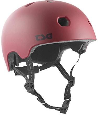 TSG Skorupa  Meta Solid Color kask, czerwony, S/M 750123