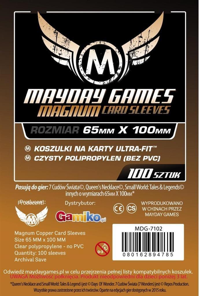 Mayday Games Koszulki Magnum Cooper 65x100 (100szt)