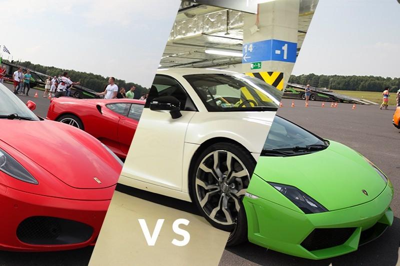 go racing Ferrari F430 vs Audi R8 vs Lamborghini Gallardo : Ilość okrążeń - 6, Tor - Tor Olsztyn, Usiądziesz jako - Kierowca