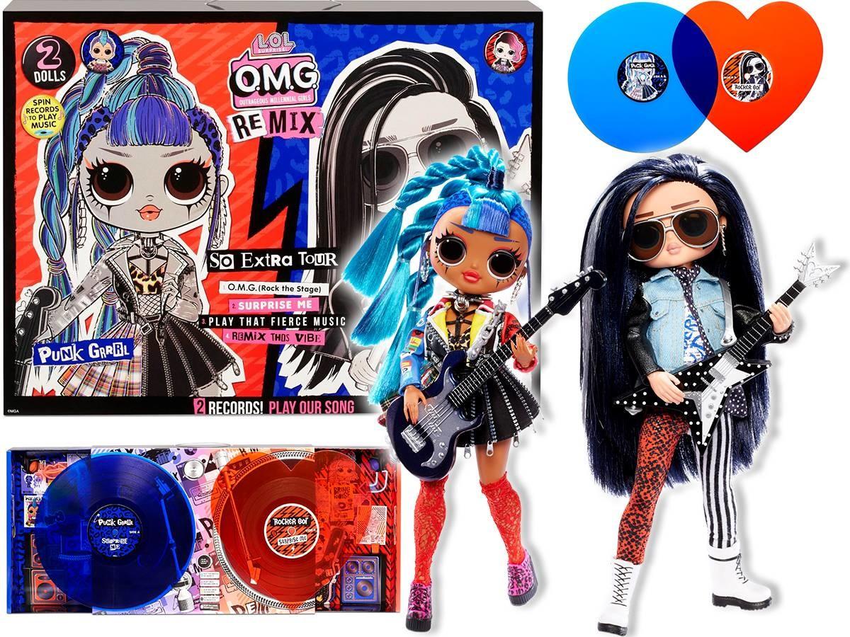 LOL Surprise LOL Surprise OMG Remix Rocker Boi Punk Grrrl Zestaw Rockowy 567288 0000043915