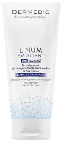 Dermedic LINUM Żel pod prysznic odbudowujący barierę ochronną skóry 200ml 56106-uniw