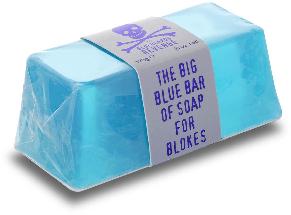 The Bluebeards REVENGE REVENGE Zestaw BODY Kosmetyczka Ręcznik Grzebień do Włosów Antyperspirant Mydło BLUE Chłodzący Krem do Twarzy