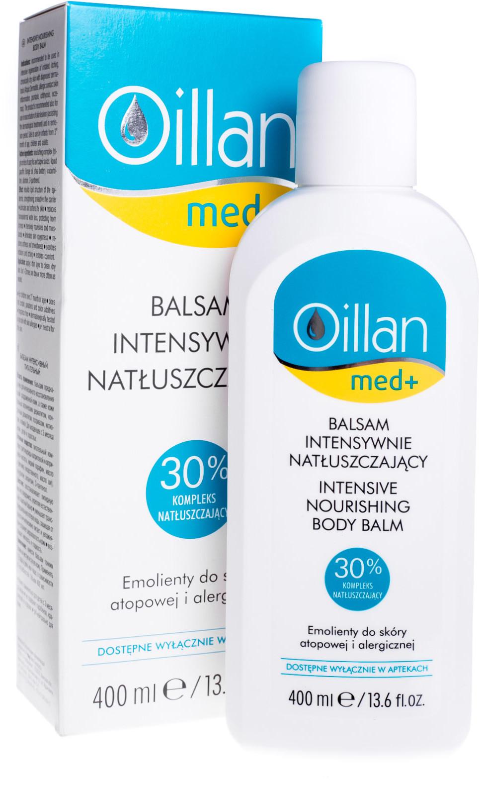Oceanic OILLAN BABY Płyn do mycia i zestaw kosmetyków do kąpieli/pod prysznic 2w1 - 400 ml + Balsam