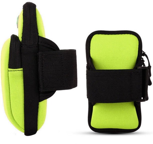 Alogy Etui torba armband opaska na ramię SportBag Zielone 6621X8