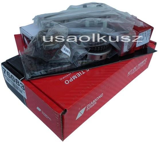 DIAMOND POWER Rozrząd kpl łańcuchy ślizgi napinacze Dodge Durango 4,7 V8 2000-2002 76083