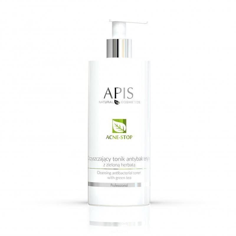 Apis acne-stop oczyszczający tonik antybakt. z zieloną herbatą 500ml P105373