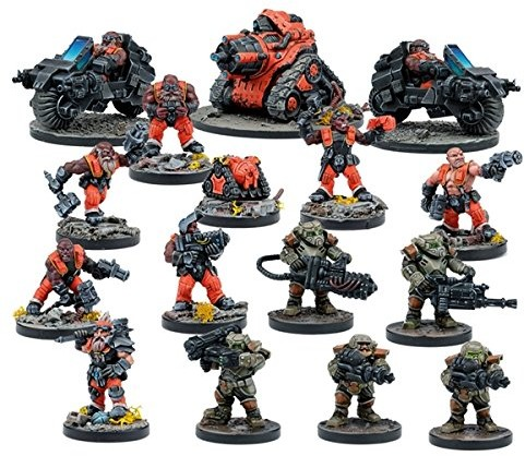 Unbekannt Znane mantic Games 5060208869279Dead ZoneForge Father Faction Boostergry