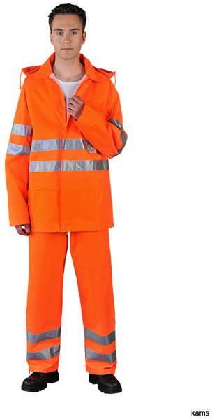 dc9bb44dfacf66 Reis LH-FLUER-J - odzież ochronna, kurtka przeciwdeszczowa z pasami  odblaskowymi -
