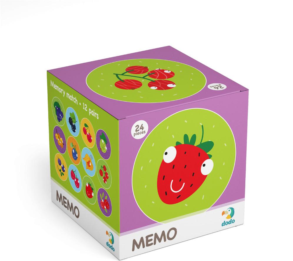 TM Toys DODO Minigra memory Owoce
