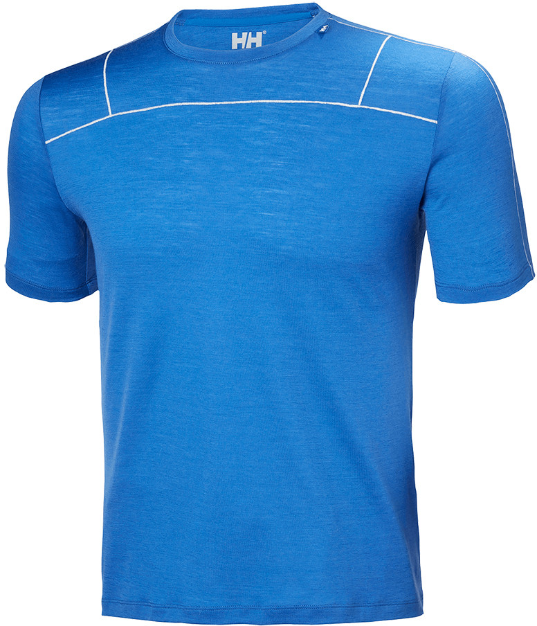 Helly Hansen Koszulka MERINO LIGHT SS MEN olympian blue