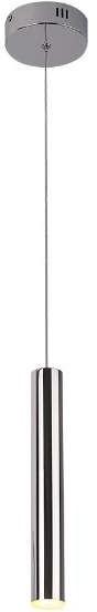 Maxlight LAMPA wisząca ORGANIC P0279 metalowa OPRAWA LED 4W zwis sopel chrom P0279