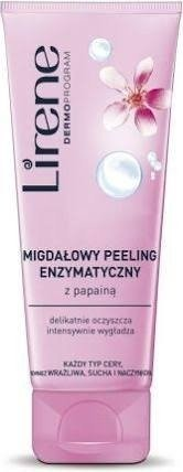 Lirene LIRENE Dermoprogram Peeling Enzymatyczny Migdałowy z Papainą 75ml