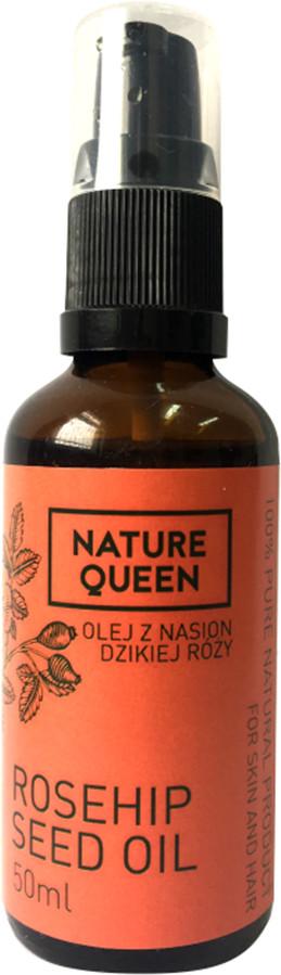 NATURE QUEEN Olej z nasion dzikiej róży Nature Queen 50ml