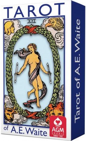 AGM Urania Tarot of A.E.Waite (Standard Blue Edition)