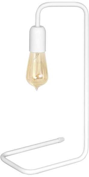 MLAMP Stojąca LAMPA stołowa ADX 857B1 industrialna LAMPKA metalowa na biurko żarówka bulb loft czarna ADX 857B1